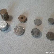 Monedas de España: LOTE DE 37 MONEDAS DE VARIOS VALORES DE PESETAS Y FECHAS.. Lote 204262003