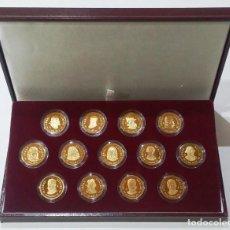 Monedas de España: COLECCIÓN 13 ARRAS REALES V CENTENARIO AUSTRIAS Y III CENTENARIO BORBONES+LIBRO AUSTRIAS Y BORBONES. Lote 204683686