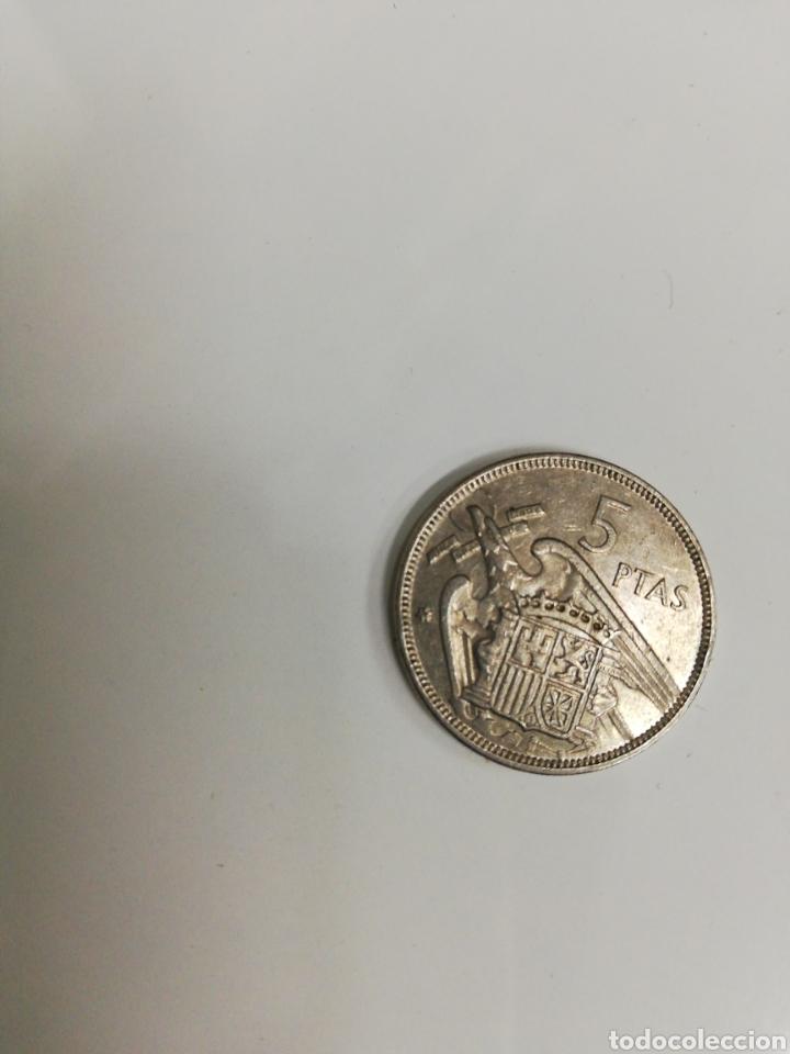 Monedas de España: Lote de 40 monedas Franco. De Duro, de 5 ptas. Tods circuladas y todas de 1957. - Foto 3 - 204824101