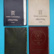 Monedas de España: COLECCION DE 3 CARTERAS PRUEBAS NUMISMATICAS Y 1 SERIE NUMISMATICA, 1976, 1977, 1979 Y 1980. Lote 205723541