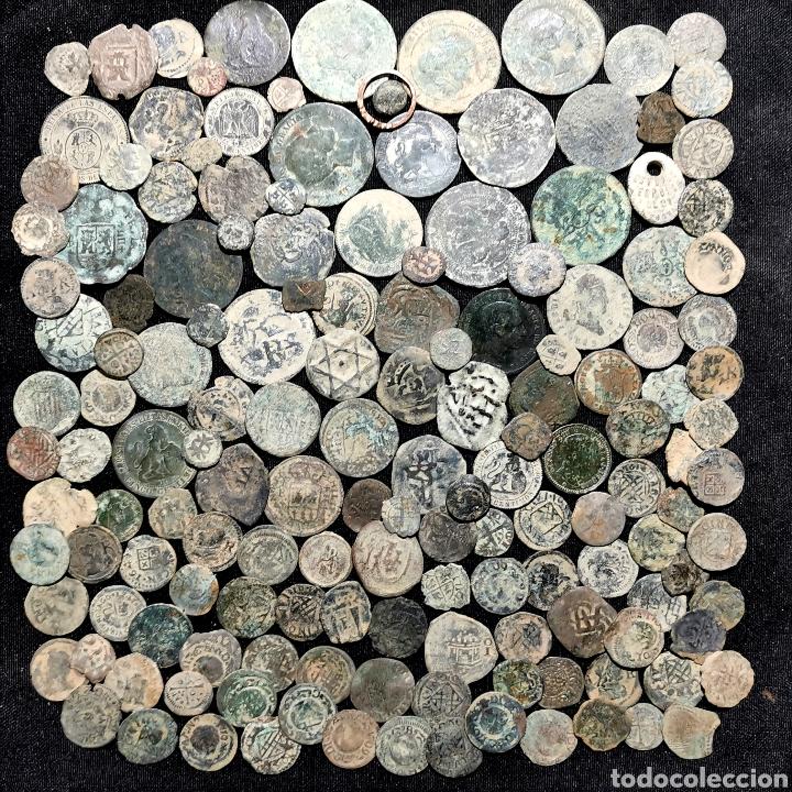 A17. BUEN LOTE DE 155 PIEZAS. VER DESCRIPCIÓN (Numismática - España Modernas y Contemporáneas - Colecciones y Lotes de conjunto)