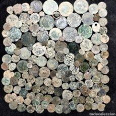 Monedas de España: A17. BUEN LOTE DE 155 PIEZAS. VER DESCRIPCIÓN. Lote 206213006