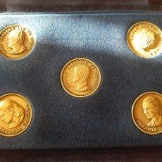 Monedas de España: ESTUCHE TERCIOPELO MEDALLAS CONMEMORATIVAS FAMILIA REAL ESPAÑOLA. Lote 206932597