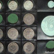 Monedas de España: PESETAS BARCELONA 1808-1814 Y ECU MADRID 1991 (12 MONEDAS CONMEMORATIVAS PLATA) VER FOTOS Y RELACIÓN. Lote 193964275