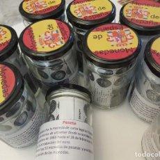 Monedas de España: 7 LIQUIDACION BOTE CON 50 MONEDAS PESETAS SPAIN ESPAÑA ESPAGNE POT MONNAIE JAR COINS. Lote 211446119