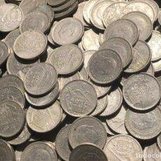 Monedas de España: LOTE DE 100 MONEDAS DE 5 PESETAS DE 1957. Lote 211759112
