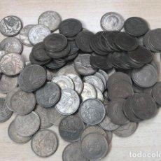 Monedas de España: LOTE 100 MONEDAS DE 5 PESETAS DE 1957*75. Lote 211857507