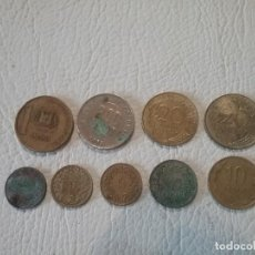 Monedas de España: LOTE DE 9 MONEDAS DE DIFERENTES PAÍSES EUROPEOS Y NO EUROPEOS Y DE DIFERENTES VALORES. Lote 211905362