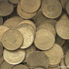 Monedas de España: LOTE 100 MONEDAS DE 1 PESETA DE 1975*78. Lote 212955940