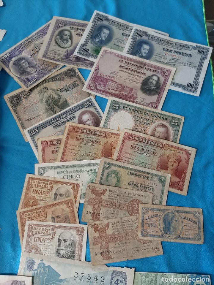 Monedas de España: Superlote variado época franco y Juan Carlos Sellos Monedas Lotería Billetes - Foto 2 - 213092775