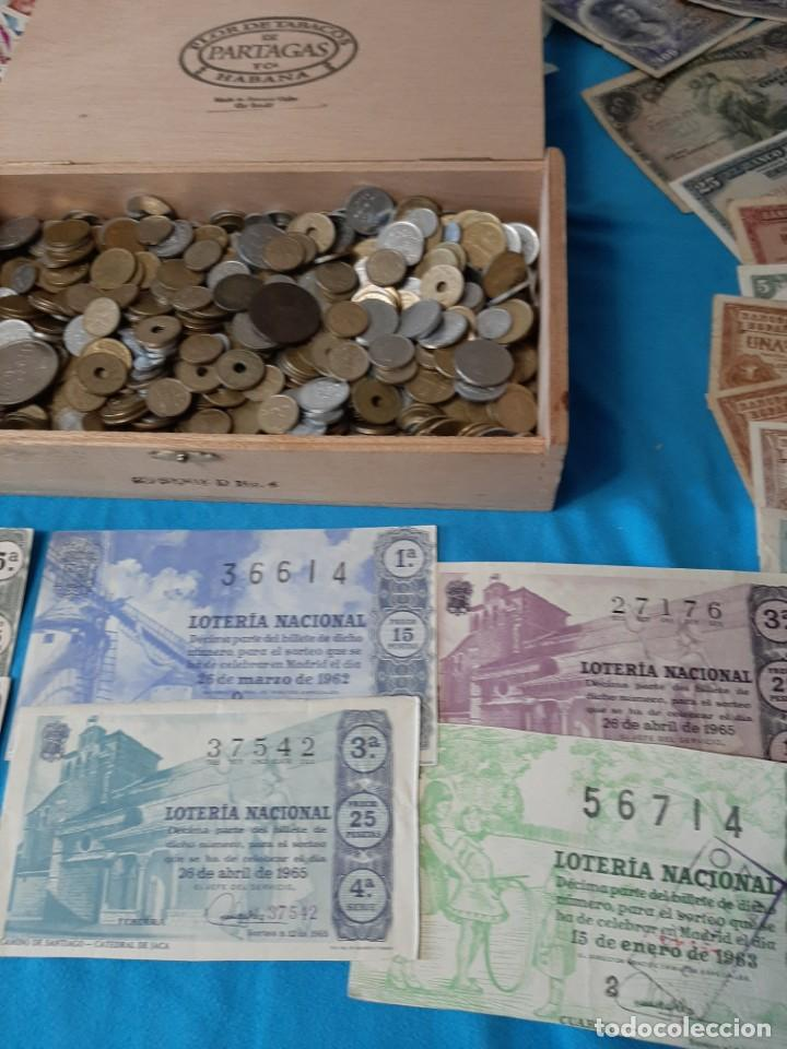 Monedas de España: Superlote variado época franco y Juan Carlos Sellos Monedas Lotería Billetes - Foto 4 - 213092775