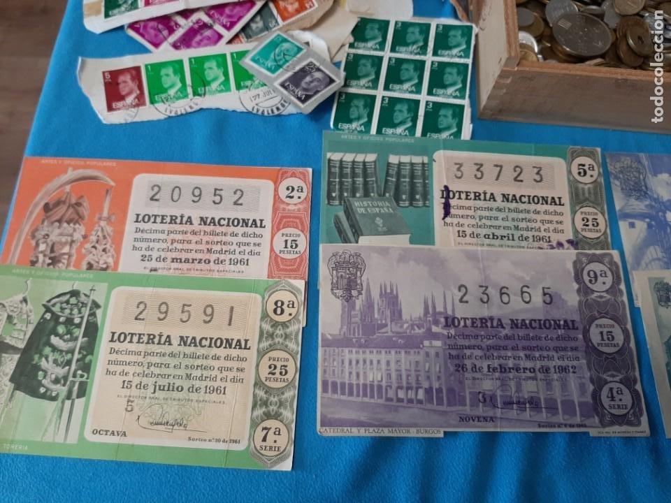 Monedas de España: Superlote variado época franco y Juan Carlos Sellos Monedas Lotería Billetes - Foto 5 - 213092775