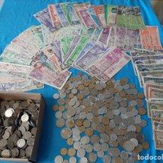 Monedas de España: SUPERLOTE EL CAJÓN DEL ABUELO MONEDAS BILLETES Y LOTERIAS. Lote 213164346