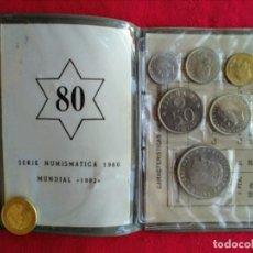 Monedas de España: ÁLBUM DE MENEDAS MUNDIAL 82 Y PRUEBAS 1979. Lote 213448962