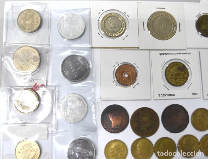 Monedas de España: LOTE DE MONEDAS ESPAÑOLAS VARIADO. ALGUNAS DE PLATA. VER TODAS LAS FOTOGRAFÍAS. - Foto 4 - 214683430