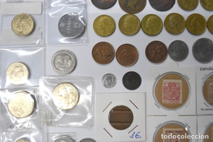 Monedas de España: LOTE DE MONEDAS ESPAÑOLAS VARIADO. ALGUNAS DE PLATA. VER TODAS LAS FOTOGRAFÍAS. - Foto 5 - 214683430