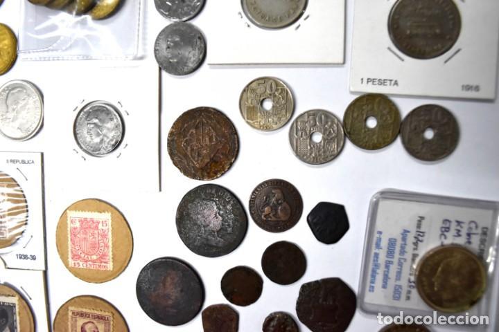 Monedas de España: LOTE DE MONEDAS ESPAÑOLAS VARIADO. ALGUNAS DE PLATA. VER TODAS LAS FOTOGRAFÍAS. - Foto 6 - 214683430