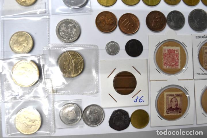 Monedas de España: LOTE DE MONEDAS ESPAÑOLAS VARIADO. ALGUNAS DE PLATA. VER TODAS LAS FOTOGRAFÍAS. - Foto 7 - 214683430