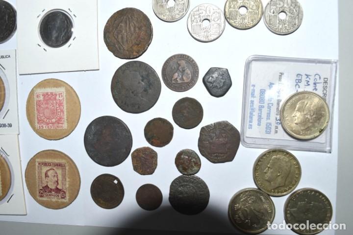 Monedas de España: LOTE DE MONEDAS ESPAÑOLAS VARIADO. ALGUNAS DE PLATA. VER TODAS LAS FOTOGRAFÍAS. - Foto 8 - 214683430
