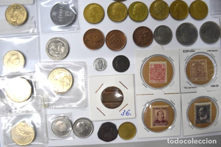 Monedas de España: LOTE DE MONEDAS ESPAÑOLAS VARIADO. ALGUNAS DE PLATA. VER TODAS LAS FOTOGRAFÍAS. - Foto 9 - 214683430
