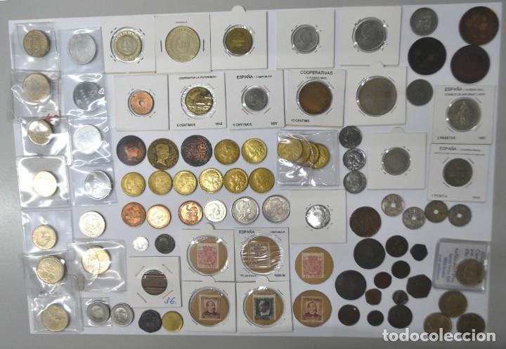 Monedas de España: LOTE DE MONEDAS ESPAÑOLAS VARIADO. ALGUNAS DE PLATA. VER TODAS LAS FOTOGRAFÍAS. - Foto 14 - 214683430