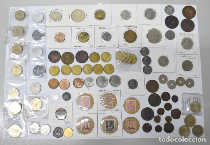 Monedas de España: LOTE DE MONEDAS ESPAÑOLAS VARIADO. ALGUNAS DE PLATA. VER TODAS LAS FOTOGRAFÍAS. - Foto 15 - 214683430
