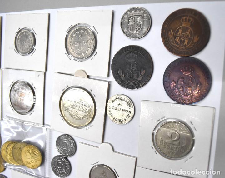 Monedas de España: LOTE DE MONEDAS ESPAÑOLAS VARIADO. ALGUNAS DE PLATA. VER TODAS LAS FOTOGRAFÍAS. - Foto 17 - 214683430