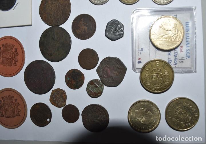 Monedas de España: LOTE DE MONEDAS ESPAÑOLAS VARIADO. ALGUNAS DE PLATA. VER TODAS LAS FOTOGRAFÍAS. - Foto 21 - 214683430