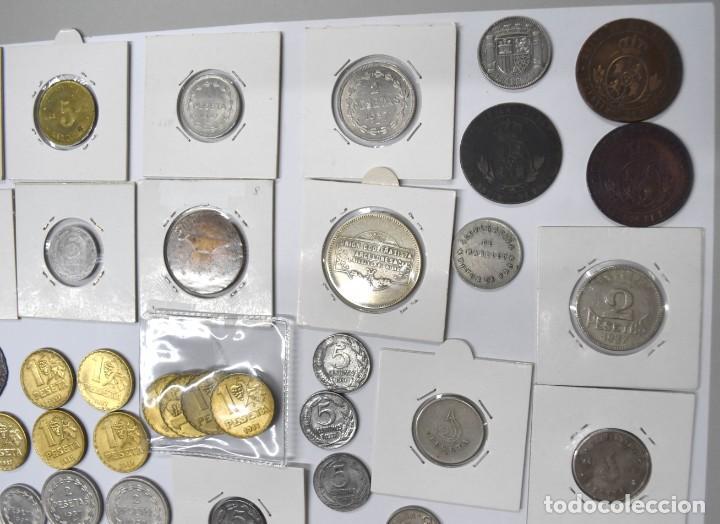 Monedas de España: LOTE DE MONEDAS ESPAÑOLAS VARIADO. ALGUNAS DE PLATA. VER TODAS LAS FOTOGRAFÍAS. - Foto 22 - 214683430