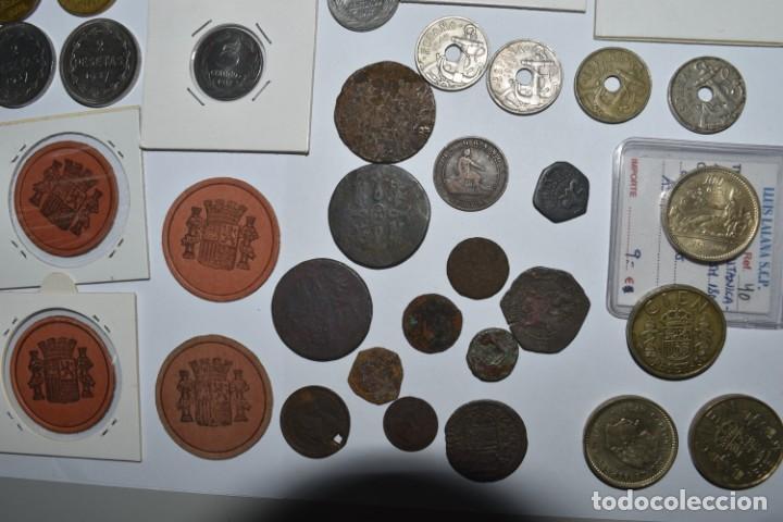 Monedas de España: LOTE DE MONEDAS ESPAÑOLAS VARIADO. ALGUNAS DE PLATA. VER TODAS LAS FOTOGRAFÍAS. - Foto 25 - 214683430