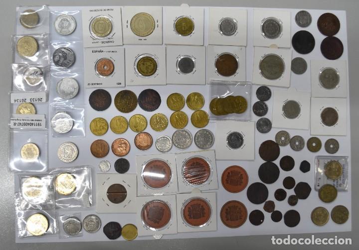 Monedas de España: LOTE DE MONEDAS ESPAÑOLAS VARIADO. ALGUNAS DE PLATA. VER TODAS LAS FOTOGRAFÍAS. - Foto 28 - 214683430