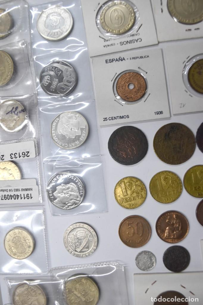 Monedas de España: LOTE DE MONEDAS ESPAÑOLAS VARIADO. ALGUNAS DE PLATA. VER TODAS LAS FOTOGRAFÍAS. - Foto 32 - 214683430