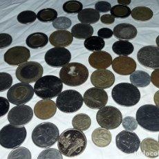 Monedas de España: BELLO LOTE DE 60 MONEDAS DIVERSAS VARIOS AÑOS Y PAISES. Lote 216593188