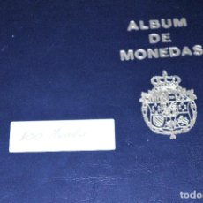 Monedas de España: ÁLBUM 100 MONEDAS DEL MUNDO DIFERENTES FECHAS 100 MONEDAS DE MUCHOS PAÍSES DEL MUNDO.. Lote 216654007