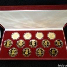 Monedas de España: LAS ARRAS REALES PLATA 925 BAÑADA EN ORO, 13 UNIDADES. F.N.M.T. Lote 218197455