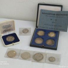 Monedas de España: LOTE NUMISMÁTICO DE PLATA MONEDAS Y MEDALLAS.. Lote 218407366