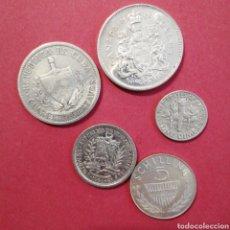 Monedas de España: LOTE DE 5 MONEDAS PLATA PRÁCTICAMENTE SIN CIRCULAR. Lote 218457968