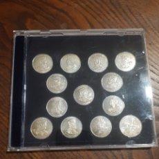 Monedas de España: 13 MONEDAS ARRAS DE LOS REYES DE ASTURIAS EN PLATA. Lote 218649758