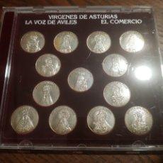 Moedas de Espanha: 13 MONEDAS PLATA VIRGENES DE ASTURIAS. Lote 218649762