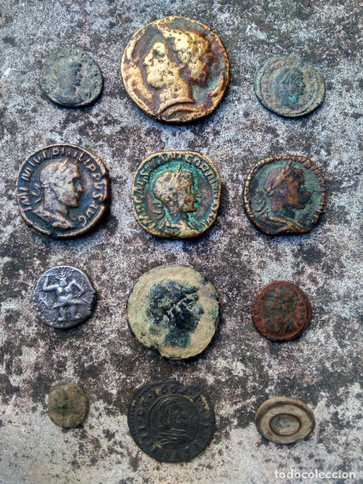 EXTRAORDINARIO LOTE DE MONEDAS ANTIGUAS - TODAS LAS DE LAS FOTOS - VER (Numismática - España Modernas y Contemporáneas - Colecciones y Lotes de conjunto)