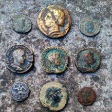 Monedas de España: EXTRAORDINARIO LOTE DE MONEDAS ANTIGUAS - TODAS LAS DE LAS FOTOS - VER. Lote 218824818