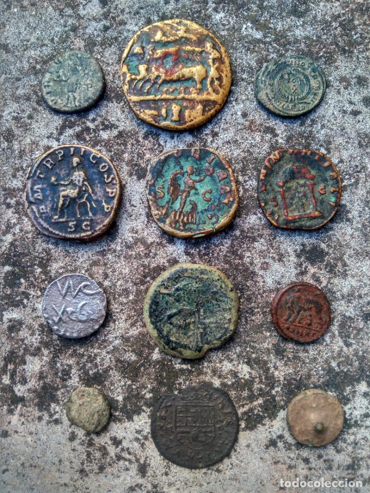 Monedas de España: EXTRAORDINARIO LOTE DE MONEDAS ANTIGUAS - TODAS LAS DE LAS FOTOS - VER - Foto 26 - 218824818