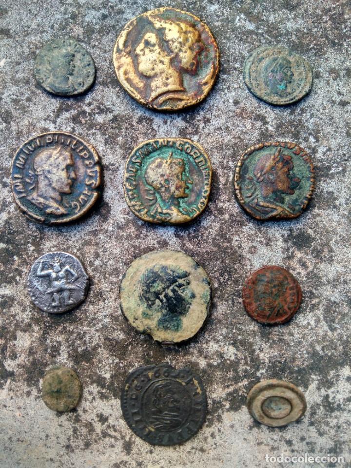 Monedas de España: EXTRAORDINARIO LOTE DE MONEDAS ANTIGUAS - TODAS LAS DE LAS FOTOS - VER - Foto 27 - 218824818