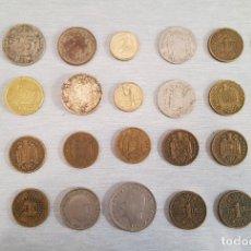 Monedas de España: LOTE DE 28 MONEDAS ESPAÑA - CÉNTIMOS Y PESETAS - 1903 1925 1944 1953 1957 1975 1998 2000. Lote 254894110