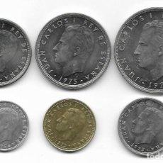 Monedas de España: JUAN CARLOS I 1975. Lote 45713845