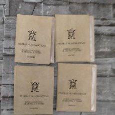 Monedas de España: 4 PRUEBAS NUMISMATICAS 1976. Lote 220242927