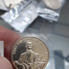 Monedas de España: MONEDA MEDALLA PLATA PERSONAJES HISTÓRICOS EXTREMADURA LUIS DE MORALES BADAJOZ REF57. Lote 220428906