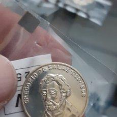 Monedas de España: MONEDA MEDALLA PLATA PERSONAJES ILUSTRES EXTREMADURA GREGORIO DE SALAS REF59. Lote 220429346