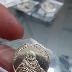 Monedas de España: MONEDA MEDALLA PLATA PERSONAJES ILUSTRES EXTREMADURA EL BROCENSE BROZAS REF62. Lote 220430377