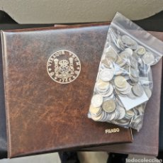 Monedas de España: D13. ÁLBUM FILABO NUEVO + HOJAS + SELECCIÓN ESPAÑA. CONJUNTO: 1770G. Lote 222042808